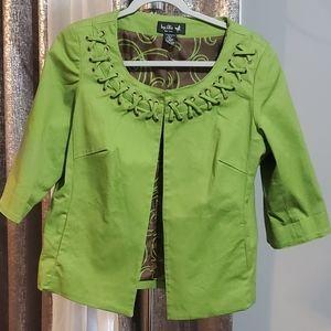 Ivy Chic top, blazer size M